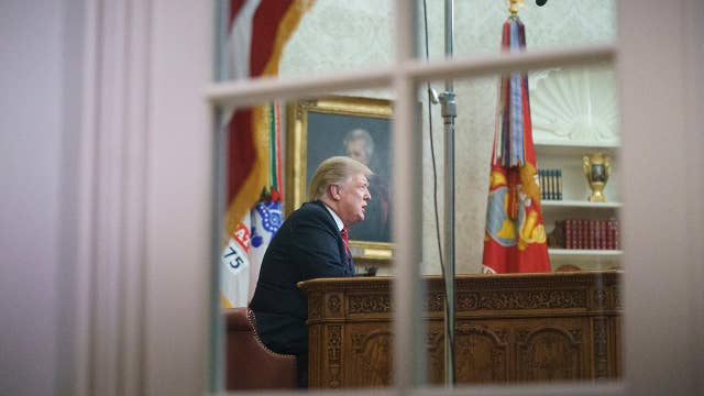 What is the scope of Trump's authority to act on border wall?