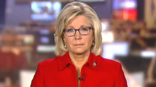 Rep. Liz Cheney speaks out on the border security debate, Christian Bale calling her dad 'satan'