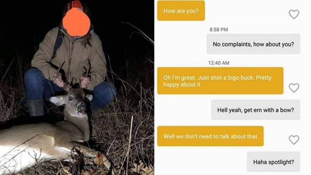 Hunter's dating app boasting to a game warden gets her in legal trouble