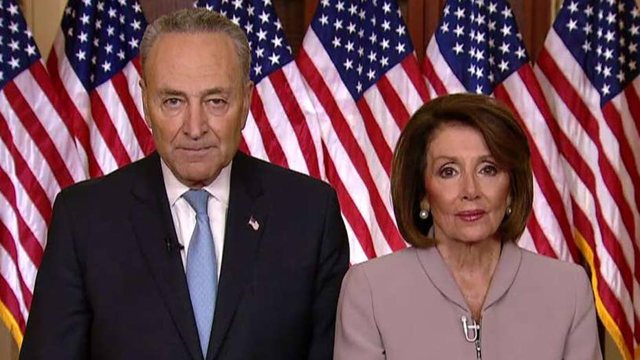 Pelosi, Schumer: Trump is holding supervision workers warrant over limit wall