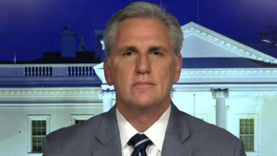 McCarthy: Trump talked about the facts on border security