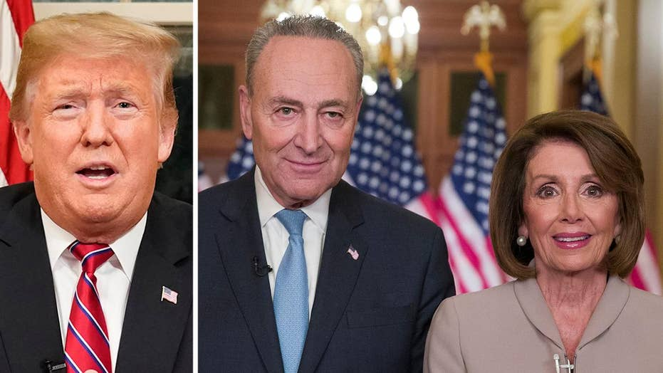 Trump, Democrats to resume border security talks at the White House after taking the debate to prime-time