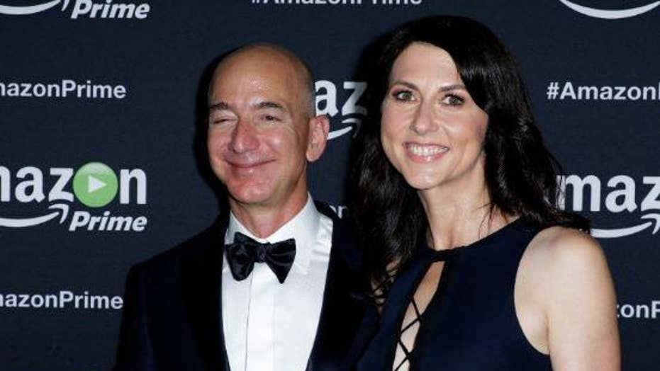 Amazon CEO Jeff Bezos and his wife MacKenzie are divorcing after 25 years of marriage