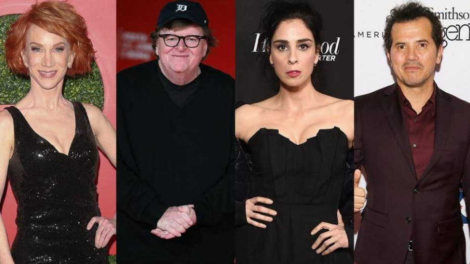 Celebrities react to Donald Trump's southern border address