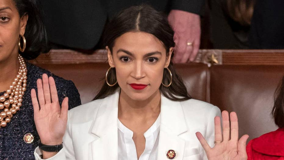 Rep. Alexandria Ocasio-Cortez slams Trump's request for border security funding, says ICE is violating human rights