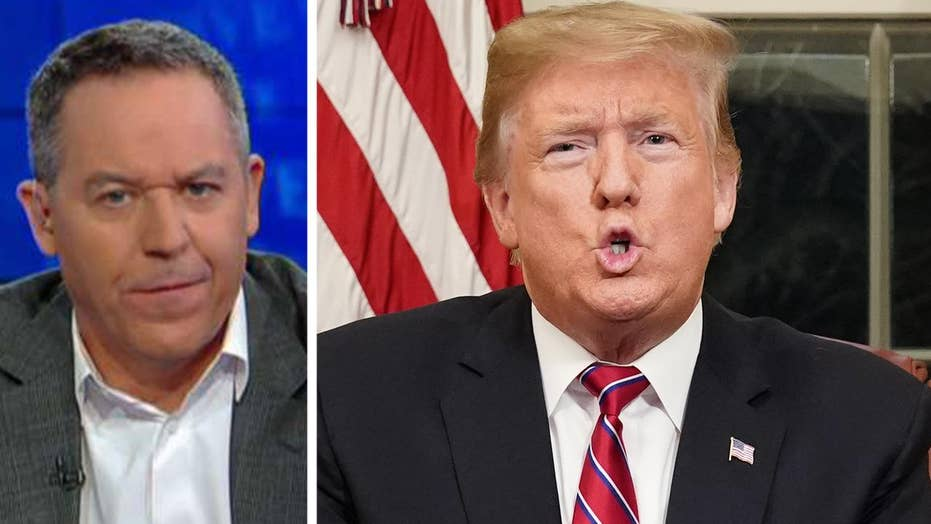 Gutfeld on networks fact-checking Trump's address