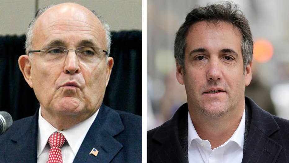 Giuliani can't imagine why Congress wants to hear from Cohen, says 'Cohen doesn't know a damn thing about collusion'