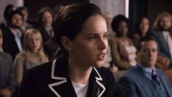 'On the Basis of Sex' star Felicity Jones on why she was 'nervous' to play Supreme Court Justice Ruth Bader Ginsburg