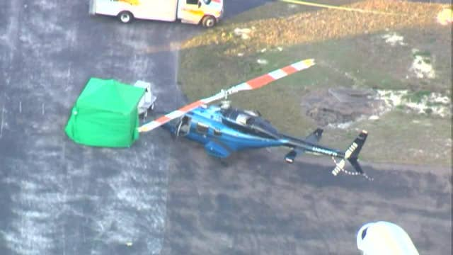 Man killed in helicopter accident at Tampa Bay area airport.
