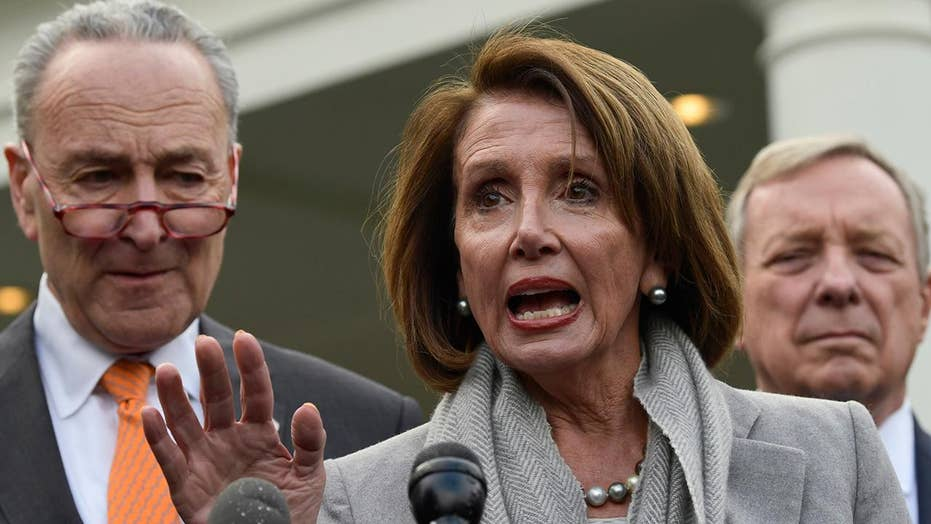 Are Dems being hypocritical of shutdown over border wall when they shut down the government over ObamaCare?