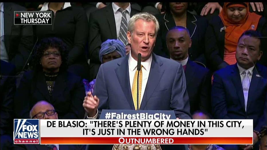 'Ugh, Don't Get Me Started': 'Outnumbered' on De Blasio's Liberal Policies
