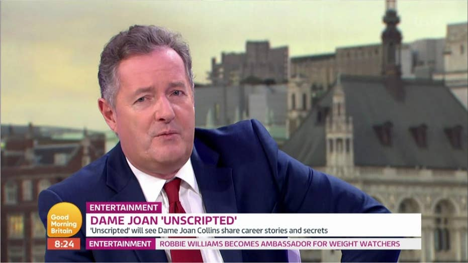Piers Morgan hospitalized for unknown cause