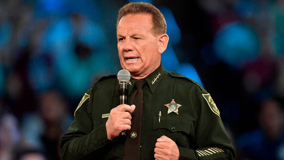 Florida Gov. DeSantis suspends Sheriff Scott Israel over his handling of Parkland high school shooting