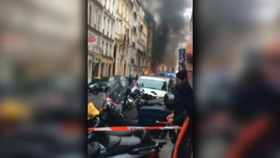 Gas leak in a Paris bakery causes explosion leaving several injured