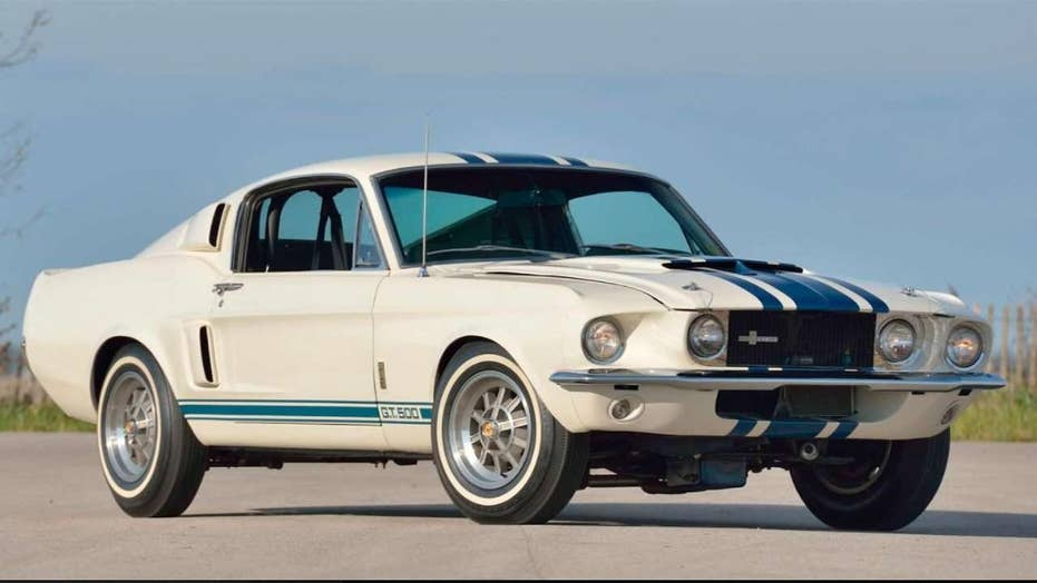 Unique 1967 Ford Mustang Shelby GT500 Super Snake sold at