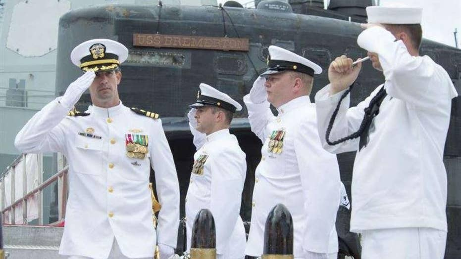 US Navy sub commander demoted after hiring prostitutes