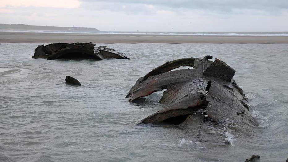 World War I German submarine discovered in Northern France