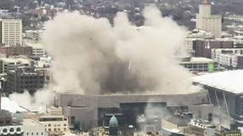 Bradley Center, former home of the Milwaukee Bucks, demolished using 'shaped charges'