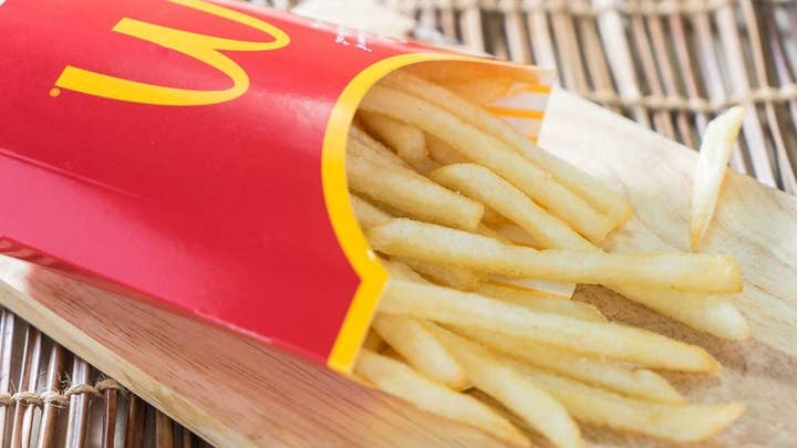 McDonald's fan discovers french fry box 'purpose'