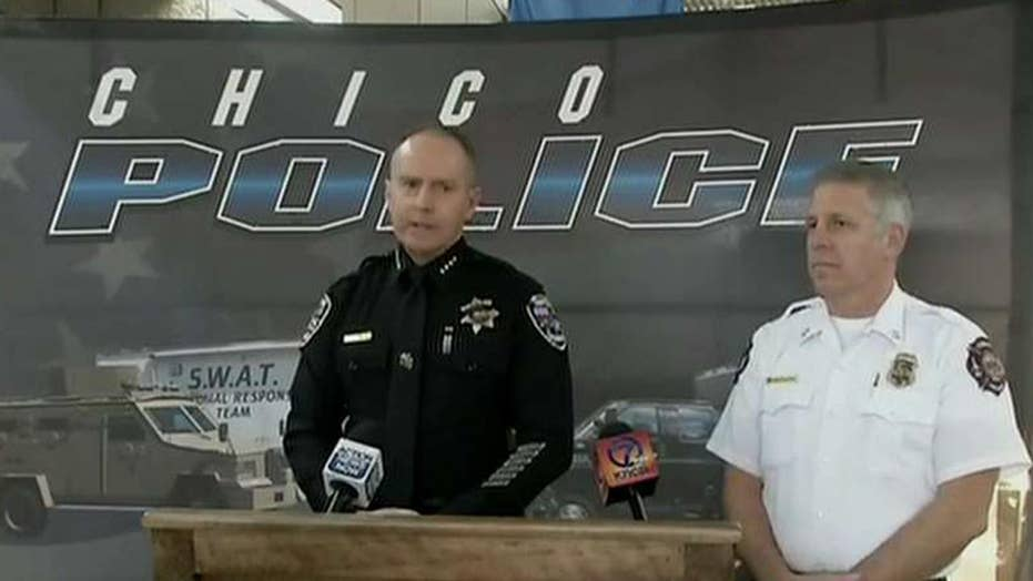 Chico police hold press conference following a mass fentanyl overdose