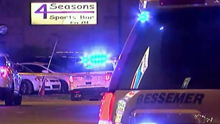 One Alabama police sergeant dead, another wounded after approaching two burglary suspects outside of a night club