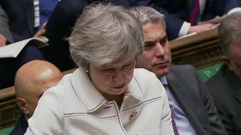 British Prime Minister Theresa May suffers devastating defeat on key Brexit vote