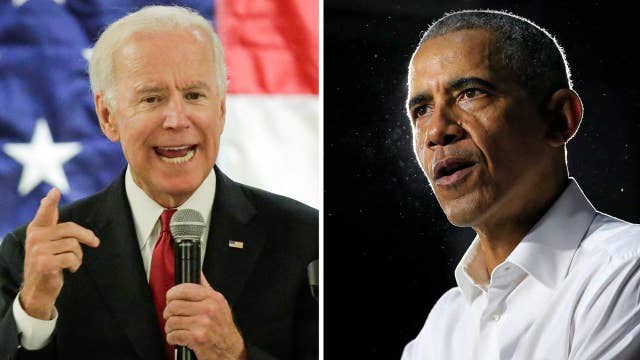 Former President Obama calls for 'new blood' as 2020 election looms and Joe Biden considers presidential run