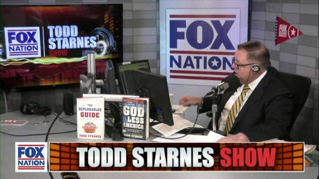 Todd Starnes and Andrew McCarthy