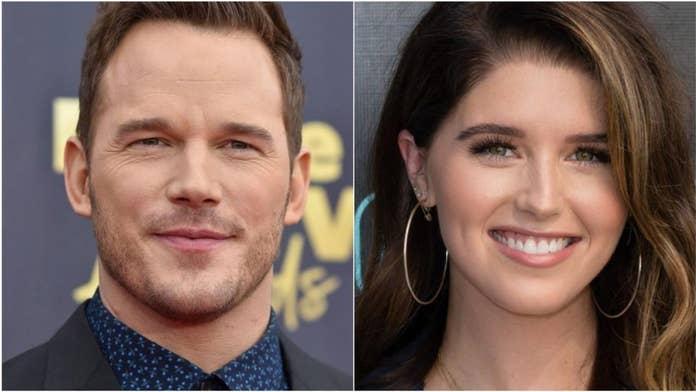 Katherine Schwarzenegger calls fiancé Chris Pratt a 'huge blessing,' says she feels 'really lucky'