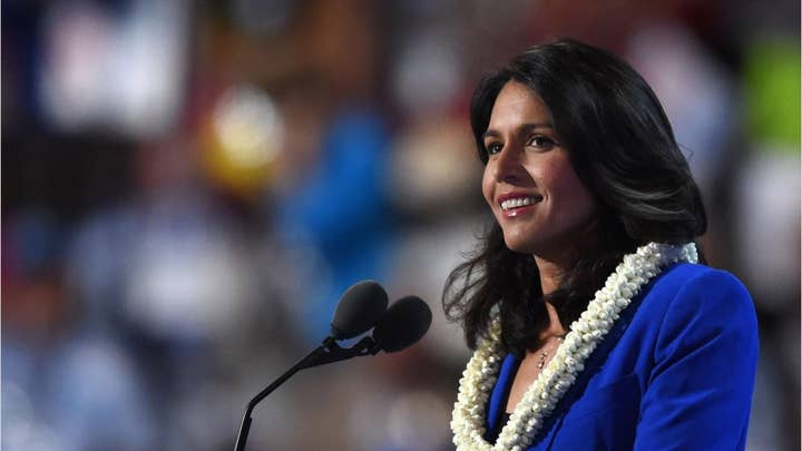Tulsi Gabbard under fire for past anti-gay remarks amid 2020 bid, says she has since 'evolved'
