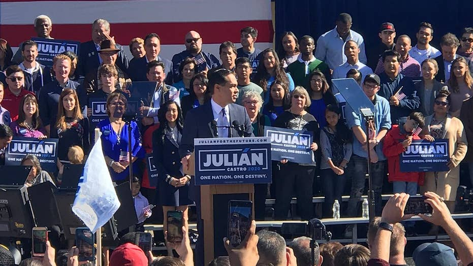 Julian Castro announces presidential bid