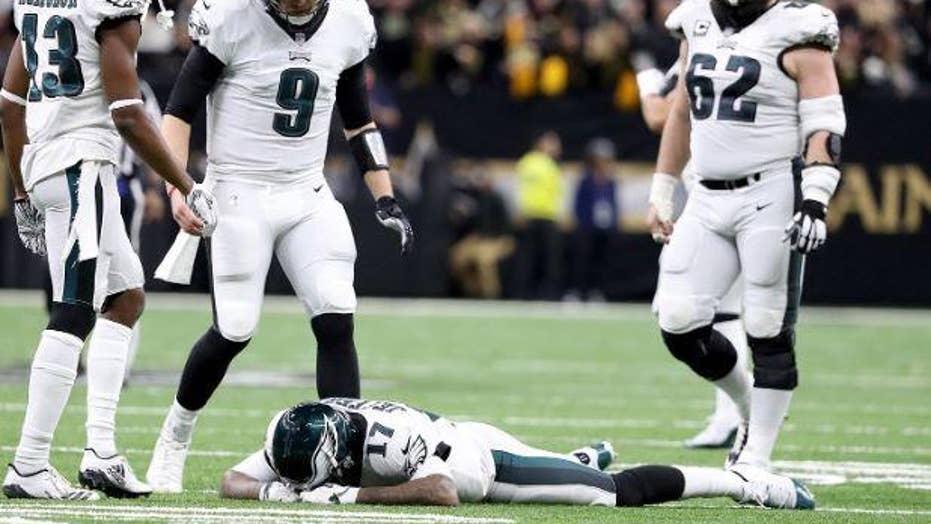 Alshon Jeffery takes the blame for the Philadelphia Eagles' 20-14 loss against the New Orleans Saints