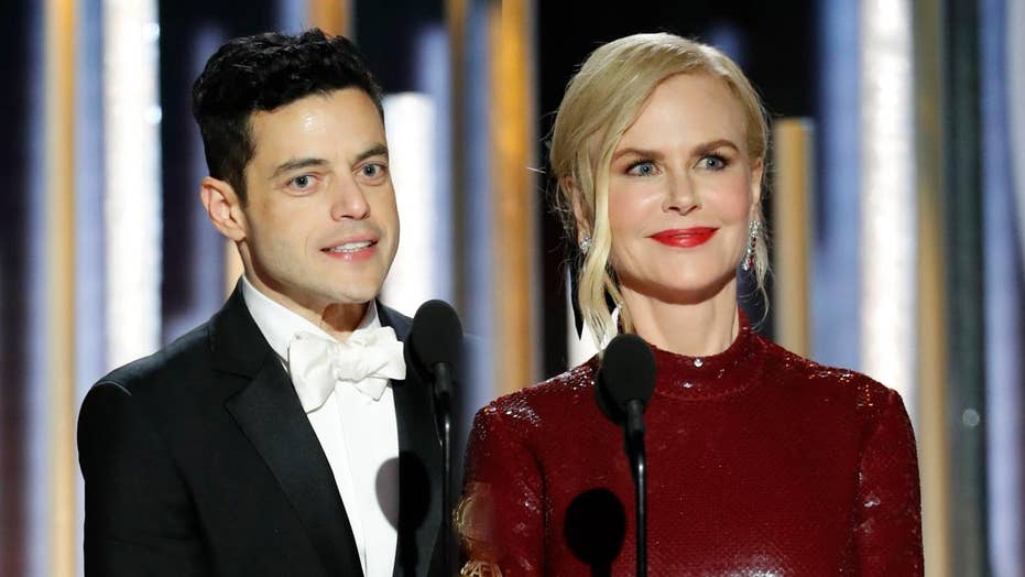 Nicole Kidman says Rami Malek's awkward Golden Globes moment 'mortified' her