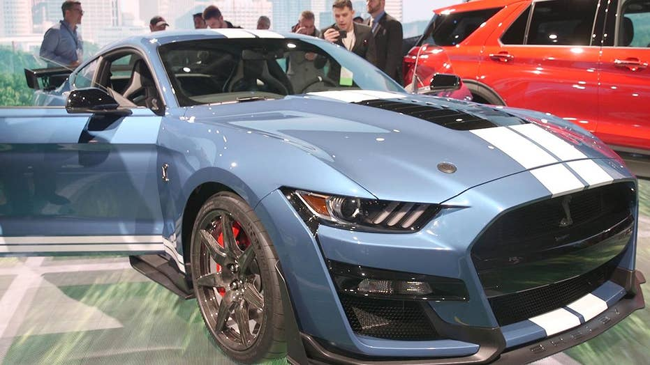 The 2020 Mustang Shelby GT500 is a most-powerful Ford ever