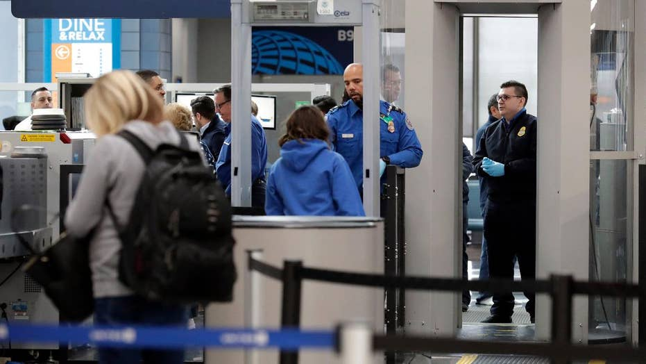 TSA staffing shortages plague airports amid partial government shutdown