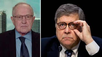 Alan Dershowitz calls William Barr's confirmation hearing a 'home run so far,' says Barr deserves bipartisan support