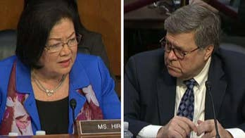 Sen. Mazie Hirono challenges William Barr to follow Jeff Sessions' example, recuse himself from overseeing Mueller probe