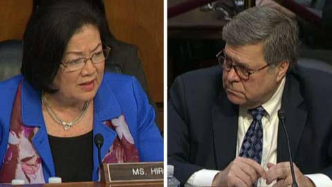 Sen. Mazie Hirono challenges Barr to recuse himself from Mueller probe