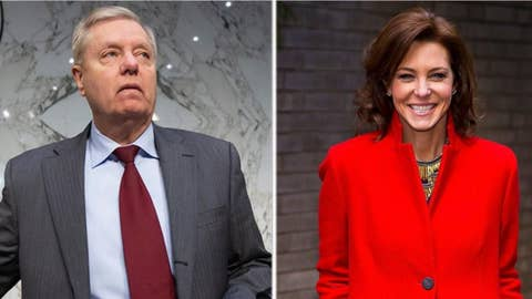 MSNBC's Stephanie Ruhle implies Trump is blackmailing Lindsey Graham