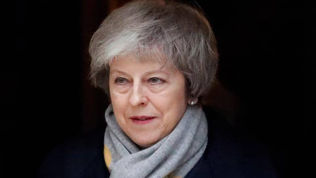 UK Prime Minister Theresa May holds meeting with cabinet