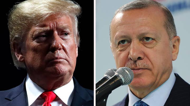 Trump threatens to 'decimate' Turkey's economy if they go after Kurds in Syria