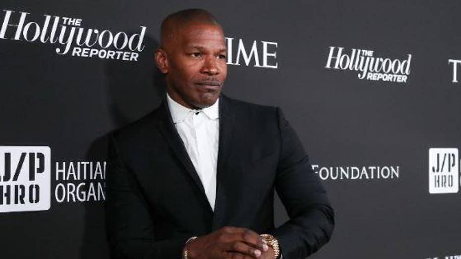 Jamie Foxx urges politicians to stop 'our side versus your side