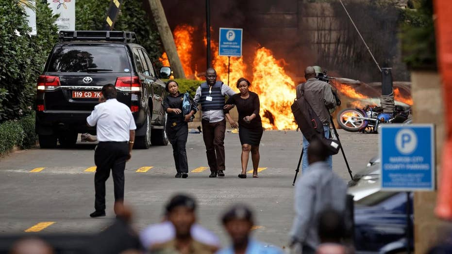 DRAMATIC VIDEO: Fear and carnage after terror group Al-Shabab attacks Nairobi hotel