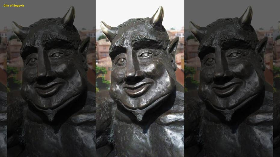 Satan sculpture stirs up controversy in Spain