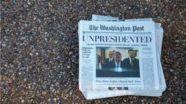 Washington Post warns bogus paper being distributed claiming Trump left office