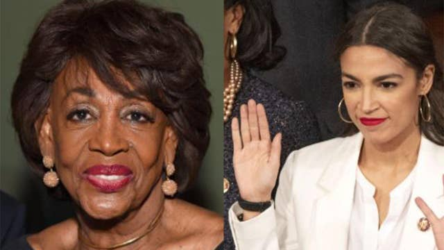 Rep. Alexandria Ocasio-Cortez announces that she will join Rep. Maxine Waters on the House Financial Services Committee