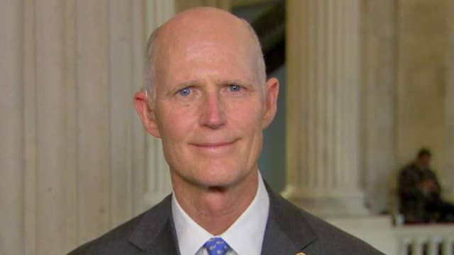 Sen. Rick Scott sponsors a bill that would end pay for Congressional members if a budget is not passed