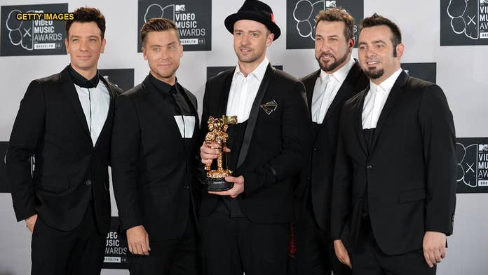 Joey Fatone says there's no *NSYNC reunion being planned but 'never say never'