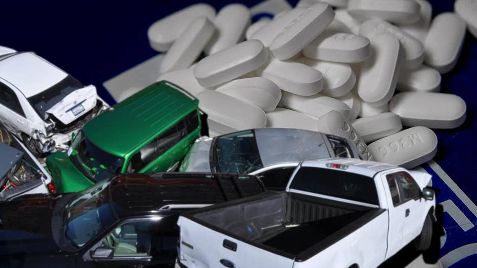 Americans are now some-more expected to die of an opioid overdose than in automobile crash, a new news warns