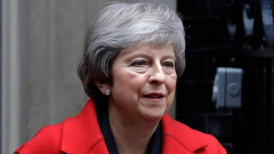 British PM Theresa May in fight to save her premiership ahead of no-confidence vote